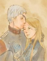 Last Exile : Luscinia and Liliana 05 by dhurain