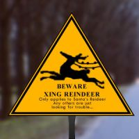 Reindeer xing by SiLenT-Snake