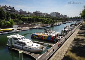 Different designs of boats by EUtouring