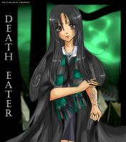 HP - Death Eater Girl by gomimushi