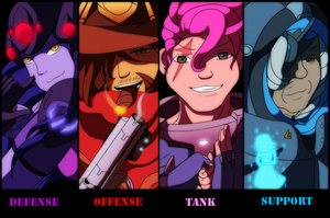 Overwatch: Who Are Your Heroes? by CoolFireBird