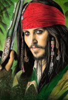 Captain Jack Sparrow by Joanna-Vu