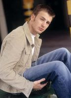 Chris Evans blue jean by kalianalyticaldevine