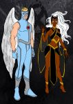 X-Men Year One-Angel And Storm by Comicbookguy54321