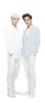 Sehun and Kai for Nature republic render/png by vanillaisyummy