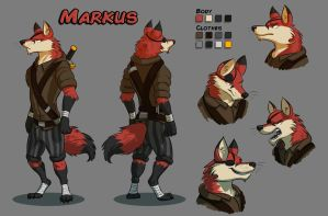 Markus Character Sheet by Temiree