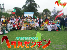 Hetalia Day Argentina 2011 by chiaky