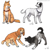 Bleach Doggies 5 by emlan