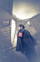 COSPLAY-KHR:HIBARI04 by yolkler