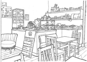My Berlin - my favourite local cafe by keiross