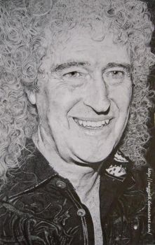 Brian May by Meggie8