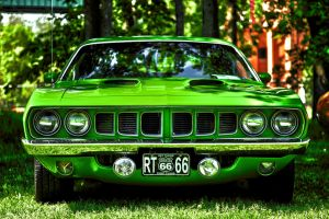 1971 Plymouth Cuda by RockRiderZ