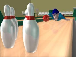 Bowling gone wrong by 0jen0