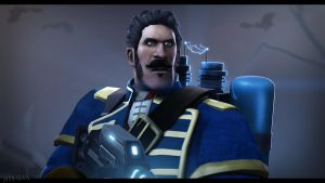 Team Fortress 2: The Order 1886 by P0nyStark