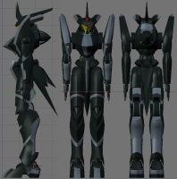 GN Serei WIP, body complete by Seig-Verdelet