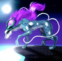 """Detailed Suicune"" by Jade-Viper"