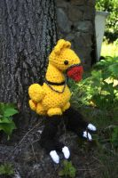 Final Fantasy Chocobo Amigurumi by amiguGEEK