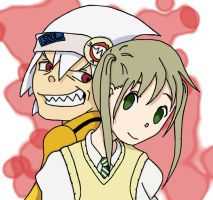 SE - Soul and Maka by Ajir