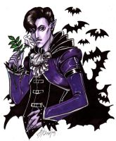 Faggy Vampire GAIA ONLINE by omegasama
