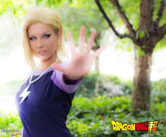 Android 18 From Dragon Ball Super by Queen-Azshara