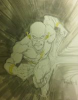 The Flash AAcomicon sketch by RyanOttley