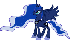 The New Princess Luna by KalleFlaxx