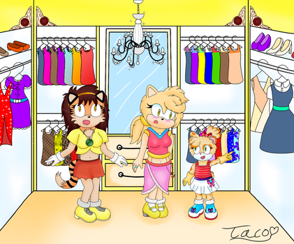 Dressup Time! - Contest Entry by Brisa-The-Fox