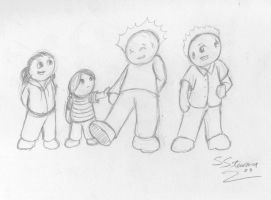 Jerry's Adventures lineup 1 by Inaaca