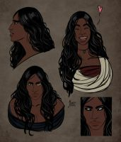 Yesenia Sketches by M-Jenai