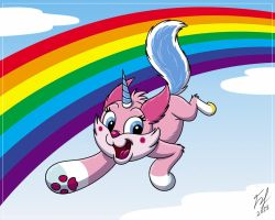 Over The Rainbow by Goldy--Gry