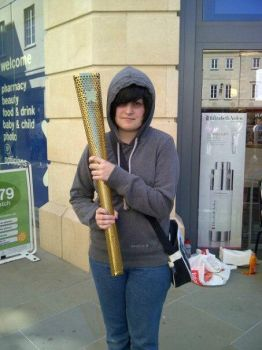 CG: HOLD THE OLYMPIC TORCH by KatiaGavin