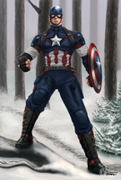 Captain America - Age of Ultron by BW-Straybullet