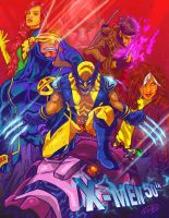 X-Men 50th anniversary by eldeivi