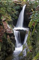 Smoky Mountains Waterfall 3 by poetcrystaldawn