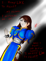Chun-Li - Decisions for her life by kaiserkleylson