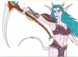 World of Warcraft Legion - Scythe of Elune by Tyrannuss555
