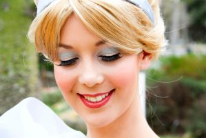 Cinderella Make-up closeup by LadyGryffindor