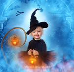 Lola, the little witch by MeemieArt