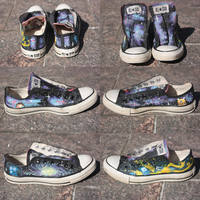 Doctor Who Shoes by NachoNachoCheese