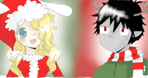 Fiolee Christmas by Maychan16