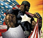 Black Captian America by omariwise20x