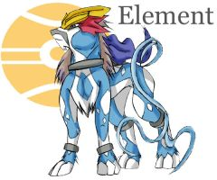 PKMN No.105 Element by KasaraWolf