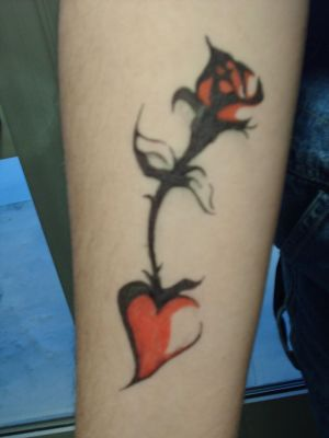 Rose Tattoo This is one of three