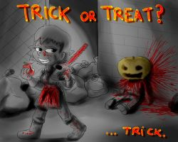 Trick Or Treat? ...Trick by Fadri