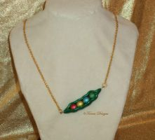 Magic Beans Necklace Zelda OoT MM Handmade OOAK by TorresDesigns