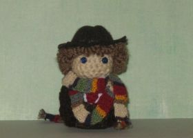 4th Doctor Amigurumi Doll by Craftigurumi