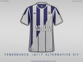 Fenerbahce 16/17 Alternative Kit by graphicmega