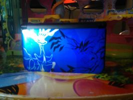 My NEW Nintendo 3DS XL  Pokemon XANDY BLUE Edition by Bluedragon85