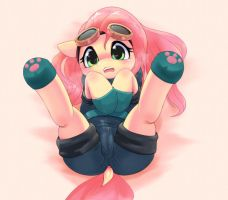 fluttershy by Apricolor