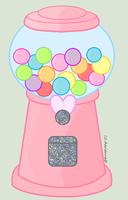 Gumball Machine by AariannaD